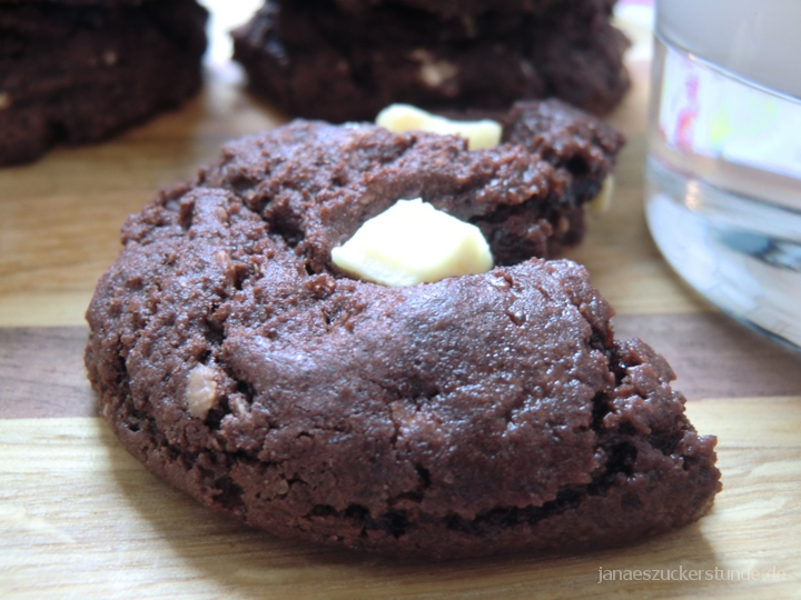 doppel Schoko Brownie Cookies