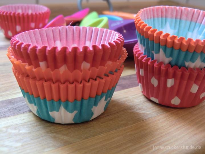 Backförmchen für Cupcakes
